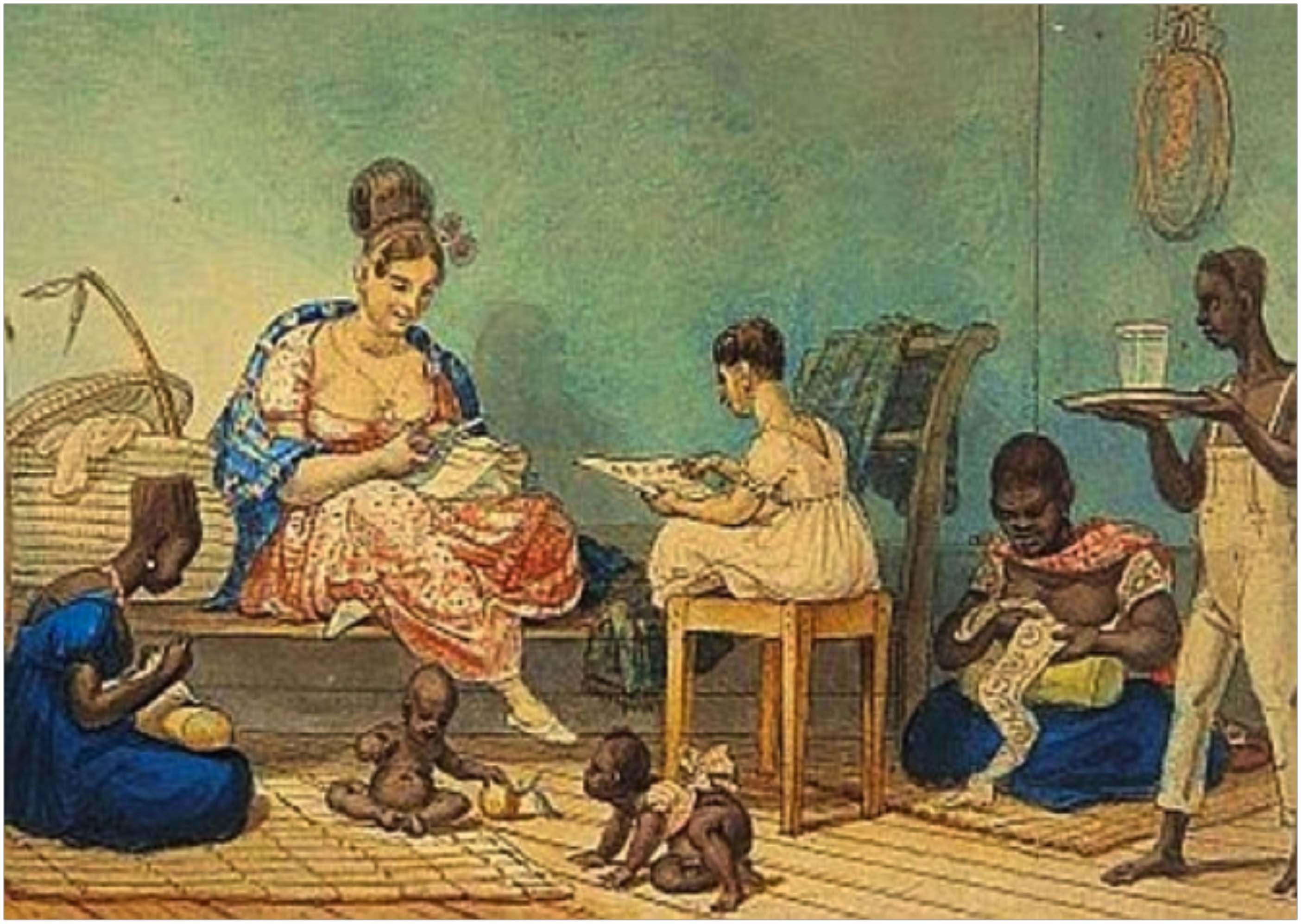 blogModacad-rendasbrasileiras-Debret-senhora-de-algumas-posses-em-seu-lar