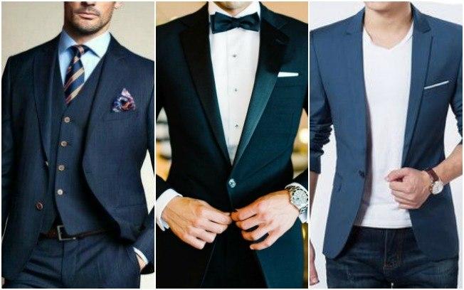 Tipos de trajes de alfaiataria masculina e em que ocasião cada uma deve ser usada